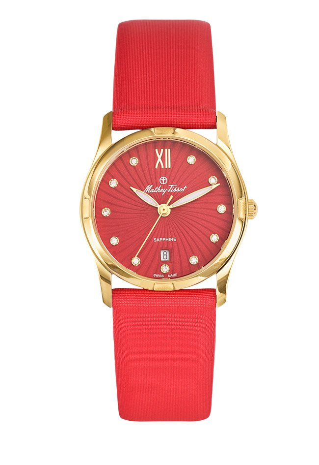 Mathey Tissot - gold-red